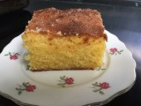 Almond, Lemon and Polenta cake