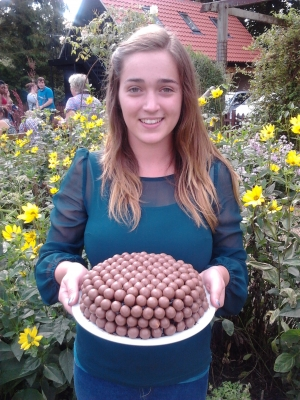 Our August Dish of the Day - Lottie and her Magnificent Malteser Birthday Cake